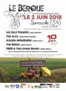 Le Berque Festival : Musiques Actuelles à Serrouville 54560 Serrouville du 02-06-2018 à 18:30 au 03-06-2018 à 02:00