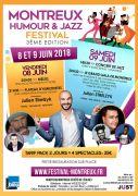 Festival de l'Humour et du Jazz à Montreux 54450 Montreux du 08-06-2018 à 20:00 au 09-06-2018 à 22:00