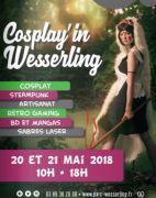 Cosplay'in Wesserling au Parc de Wesserling Parc de Wesserling 68470 Husseren-Wesserling du 19-05-2018 à 10:00 au 20-05-2018 à 18:00