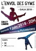 Gala de Gymnastique à Plombières-les-Bains 88370 Plombières-les-Bains du 09-06-2018 à 20:00 au 09-06-2018 à 22:30