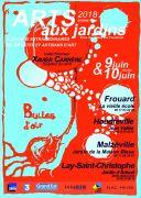 Arts aux Jardins en Meurthe-et-Moselle Meurthe-et-Moselle du 09-06-2018 à 10:00 au 10-06-2018 à 19:00