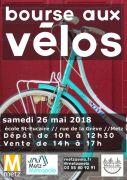 Bourse aux Vélos à Metz 57000 Metz du 26-05-2018 à 10:00 au 26-05-2018 à 17:00