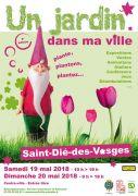 Un Jardin dans ma Ville à Saint-Dié-des-Vosges 88100 Saint-Dié-des-Vosges du 19-05-2018 à 10:00 au 20-05-2018 à 18:00