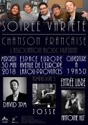 Soirée Concert Festival Partâges à Laxou 54520 Laxou du 30-05-2018 à 19:30 au 30-05-2018 à 21:30