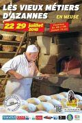 Vieux Métiers d'Azannes : Les Estivales  55150 Azannes-et-Soumazannes du 22-07-2018 à 10:00 au 29-07-2018 à 18:00