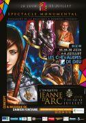 Spectacle Jeanne d'Arc Les Chevalières de Dieu Domrémy 88630 Domrémy-la-Pucelle du 28-06-2018 à 22:30 au 06-07-2018 à 23:59