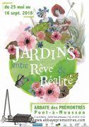 Jardins entre Rêve et Réalité à Pont-à-Mousson 54700 Pont-à-Mousson du 25-05-2018 à 10:00 au 16-09-2018 à 18:00