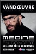 Concert de Médine à Vandoeuvre  54500 Vandoeuvre-lès-Nancy du 30-06-2018 à 20:30 au 30-06-2018 à 23:00