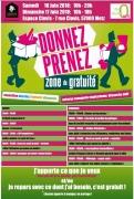 Donnez ou Prenez Zone de Gratuité à Metz 57000 Metz du 16-06-2018 à 10:00 au 17-06-2018 à 18:00