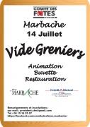 Vide-Grenier à Marbache 54820 Marbache du 14-07-2018 à 08:00 au 14-07-2018 à 18:00