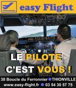 Simulateurs de Vol en Moselle à Terville 57180 Terville du 29-05-2018 à 10:00 au 31-12-2018 à 20:00