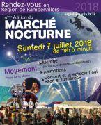 Marché Nocturne à Moyemont 88700 Moyemont du 07-07-2018 à 19:00 au 07-07-2018 à 23:59
