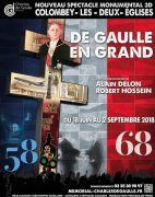Son et Lumière Génération De Gaulle à Colombey 52330 Colombey-les-Deux-Eglises du 18-06-2018 à 23:00 au 02-09-2018 à 23:00