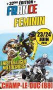 Championnat de France Motocross Féminin Champ-le-Duc