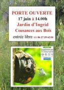 Portes Ouvertes Jardin d'Ingrid à Cousances-aux-Bois 55500 Cousances-lès-Triconville du 17-06-2018 à 14:00 au 17-06-2018 à 18:00