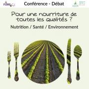 Conférence-Débat sur l'Alimentation à Pont-Saint-Vincent 54550 Pont-Saint-Vincent du 15-06-2018 à 18:00 au 15-06-2018 à 20:00