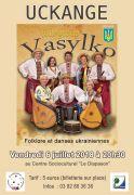 Soirée Folklorique Ukrainienne à Uckange 57270 Uckange du 06-07-2018 à 20:30 au 06-07-2018 à 23:00