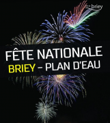 Feu d'Artifice au Plan d'Eau de Briey