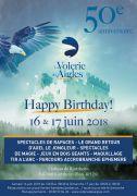 50 Ans de la Volerie des Aigles à Kintzheim  Volerie des Aigles - 67600 Kintzheim  du 16-06-2018 à 13:30 au 17-06-2018 à 18:30