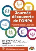 Journée Découverte ONPA Seniors à Nancy 54000 Nancy du 19-06-2018 à 09:30 au 19-06-2018 à 17:30