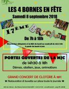 Brocante 4 Bornes en Fête à Metz 57000 Metz du 08-09-2018 à 07:00 au 08-09-2018 à 20:00