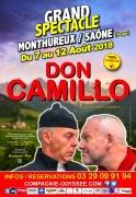Spectacle Comique Don Camillo à Monthureux-sur-Saône 88410 Monthureux-sur-Saône du 07-08-2018 à 19:00 au 12-08-2018 à 21:30