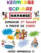 Kermesse de l'École à Havange 57650 Havange du 01-07-2018 à 10:00 au 01-07-2018 à 16:30