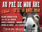 Festival Au Pré de mon Âne à Èvres-en-Argonne 55250 Èvres du 17-08-2018 à 20:00 au 18-08-2018 à 23:59