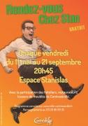 Spectacles Rendez-Vous Chez Stan à Contrexéville 88140 Contrexéville du 22-06-2018 à 20:45 au 21-09-2018 à 20:45
