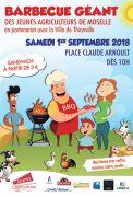 Barbecue Géant Jeunes Agriculteurs de Thionville 57100 Thionville du 01-09-2018 à 10:00 au 01-09-2018 à 20:00