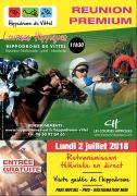 Hippodrome de Vittel Saison des Courses 88800 Vittel du 02-07-2018 à 11:00 au 26-08-2018 à 18:00