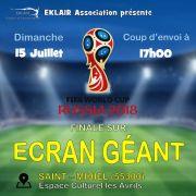 Projection Finale Coupe du Monde 2018 Saint-Mihiel
