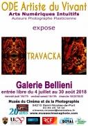 Exposition Travacka Arts Numériques Saint-Nicolas-de-Port 54210 Saint-Nicolas-de-Port du 04-07-2018 à 14:00 au 30-08-2018 à 17:00