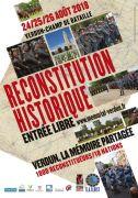 Reconstitution Historique 1ère Guerre Mondiale à Verdun 55100 Fleury-devant-Douaumont du 24-08-2018 à 10:00 au 26-08-2018 à 22:00