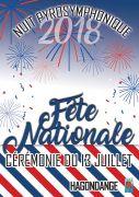 Feux d'Artifice et Fête Nationale à Hagondange 57300 Hagondange du 13-07-2018 à 20:00 au 14-07-2018 à 16:30