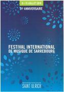 Festival International de Musique à Sarrebourg 57400 Sarrebourg du 08-07-2018 à 18:00 au 15-07-2018 à 19:00