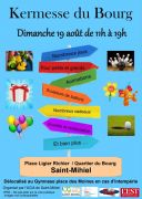 Kermesse du Bourg à Saint-Mihiel 55300 Saint-Mihiel du 19-08-2018 à 11:00 au 19-08-2018 à 19:00
