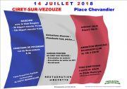 Feu d'Artifice à Cirey-sur-Vezouze 54480 Cirey-sur-Vezouze du 14-07-2018 à 09:00 au 14-07-2018 à 23:30