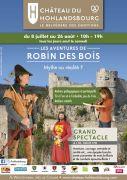 Aventures Robin des Bois Château Hohlandsbourg Wintzenheim 68920 WINTZENHEIM du 08-07-2018 à 10:00 au 26-08-2018 à 10:00