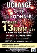 Feu d'Artifice à Uckange 57270 Uckange du 13-07-2018 à 20:00 au 13-07-2018 à 23:59