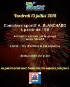 Feu d'Artifice à Faulquemont  57380 Faulquemont du 13-07-2018 à 19:00 au 13-07-2018 à 23:59