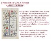 Exposition Missels et Images Pieuses à Mittersheim 57930 Mittersheim du 15-07-2018 à 14:30 au 31-08-2018 à 17:30