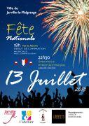 Feu d'Artifice à Jarville-la-Malgrange 54140 Jarville-la-Malgrange du 13-07-2018 à 18:00 au 14-07-2018 à 01:00