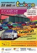 25 ans de Twingo à Chambley Planet'Air Hagéville 54470 Hagéville du 25-08-2018 à 09:00 au 26-08-2018 à 18:00