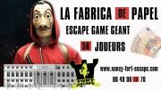 Escape Game La Fabrica De Papel à Blénod-Lès-Toul 54113 Blénod-lès-Toul du 19-08-2018 à 13:30 au 19-08-2018 à 17:45