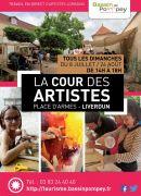 La Cour des Artistes à Liverdun 54460 Liverdun du 08-07-2018 à 14:00 au 26-08-2018 à 18:00