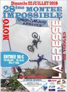 Montée Impossible La Bresse à Moto