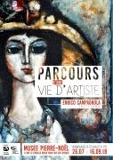 Exposition Enrico Campagnola Musée Pierre Noël de Saint-Dié 88100 Saint-Dié-des-Vosges du 26-07-2018 à 10:00 au 16-09-2018 à 18:00