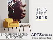 Carrefour du Patchwork Sainte-Marie-Aux-Mines 68160 Sainte-Marie-aux-Mines du 13-09-2018 à 09:30 au 16-09-2018 à 18:00