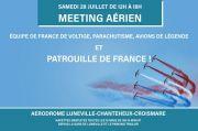 Meeting Aérien Lunéville Patrouille de France 54300 Lunéville du 28-07-2018 à 12:00 au 28-07-2018 à 18:00
